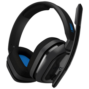 Astro Gaming A10 Grey/Blue Gaming Headset for PS4