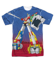 Voltron Form All-Over Print T-Shirt