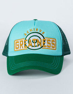 B180 Greatness2 Green Unisex Cap