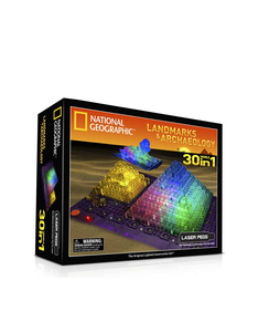 Laser Pegs 30 In 1 Landmarks National Geographic Building Set