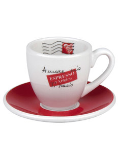 Konitz Set Amore Mio Espresso Cups & Saucers 70ml [Set of 4]