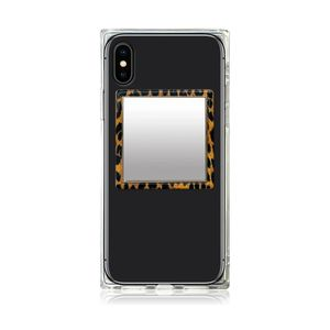 iDecoz Leopard Square Phone Mirror