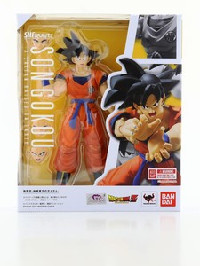 Bandai S.H.Figuarts Son Gokou A Saiyan Raised On Earth 1/12 Scale