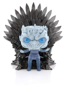 Funko Pop Deluxe Game of Thrones S10 Night King On Iron Throne