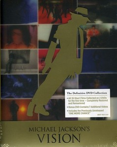 VISION OF MICHAEL JACKSON DVD