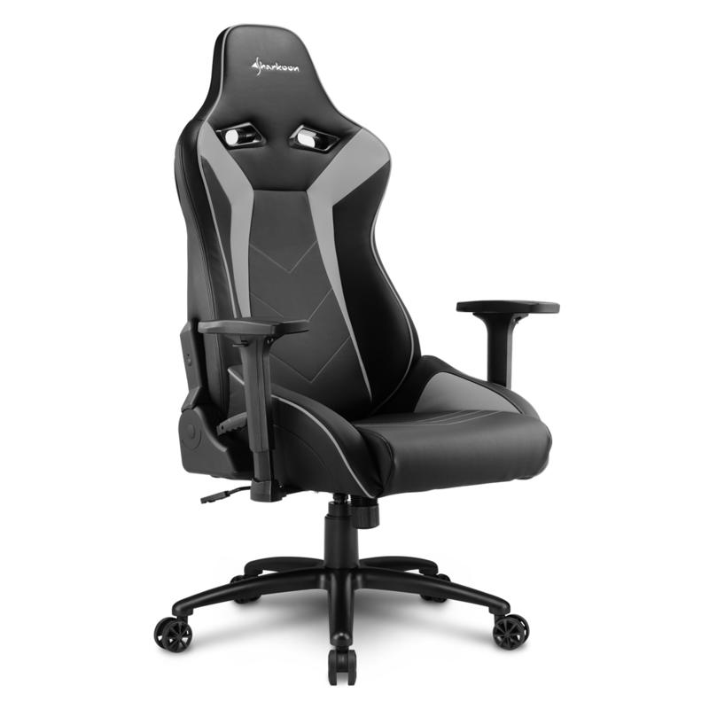 Admirable Sharkoon Elbrus 3 Black Grey Gaming Seat Gaming Chairs Gaming Accessories Gaming Virgin Megastore Pdpeps Interior Chair Design Pdpepsorg