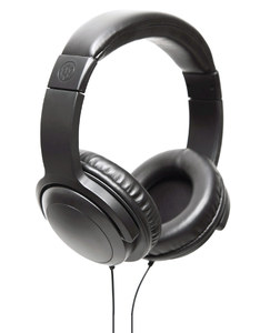 Wicked Audio Artifact Black Over-Ear Headphones