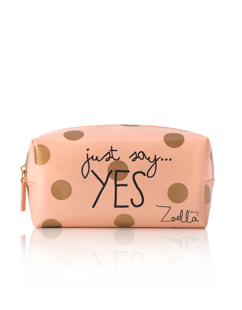 Zoella Just Say Yes Cosmetic Bag