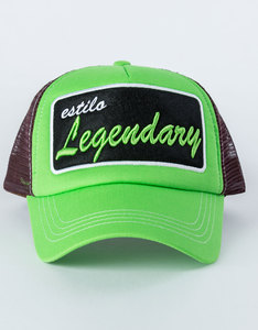B180 Legendary10 Green/Brown Unisex Cap