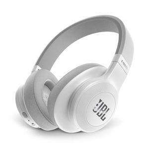 JBL E55 White Bluetooth Over-Ear Headphones