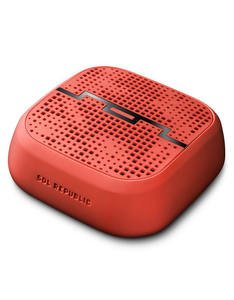 Sol Republic Punk Wireless Bluetooth Fluoro Red Speaker