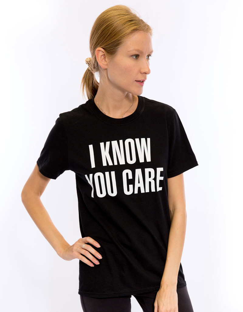Beyonce I Know Your Care Black Women's T-Shirt