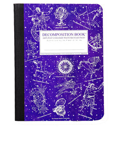Decomposition Notebook Celestial One Color [Large]