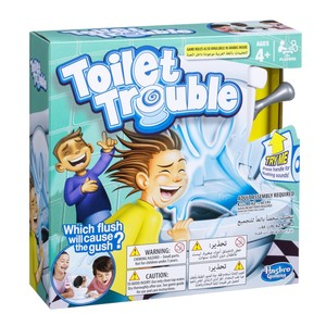 HASBRO TOILET TROUBLE BOARD GAME