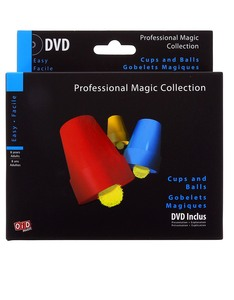 Oid Magic Cups And Balls Illusion +DVD