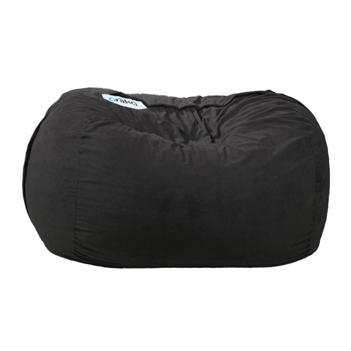 Magnificent Ariika Big Sac Black Sabia Bean Bag Furniture House Virgin Megastore Pdpeps Interior Chair Design Pdpepsorg