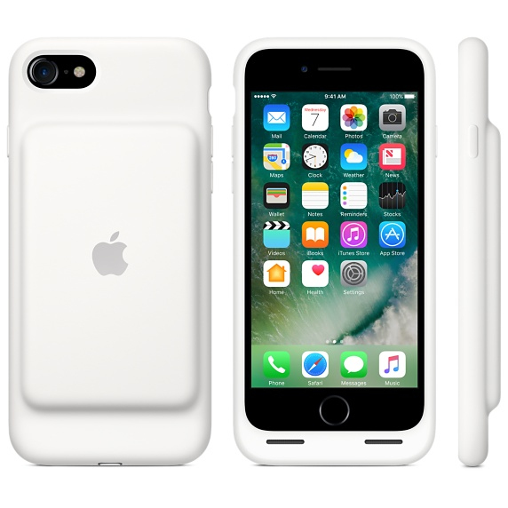 the latest 4b372 5a059 Apple Smart Battery Case White iPhone 8/7