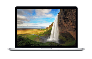 Macbook Pro 15-Inch Silver Quad-Core Intel Core i7 2.2Ghz/256GB Arabic/English