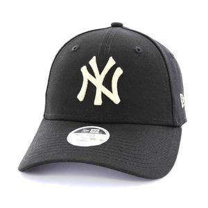 New Era Womens League Essential NY Yankees Cap Black