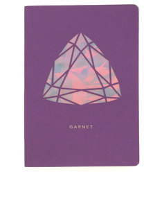 Portico Design Garnet Birthstone Purple A6 Notebook