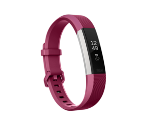 Fitbit Alta HR Fuchsia Heart Rate + Fitness Wristband [Small]