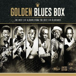 GOLDEN BLUES BOX / VARIOUS (LTD) (BOX) (DIG) (ARG)