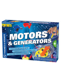 Thames & Kosmos Motors & Generators Project Kit