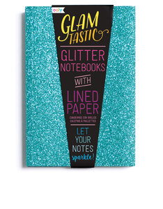 Ooly Glamtastic Glitter Notebooks Blue [Set of 3]