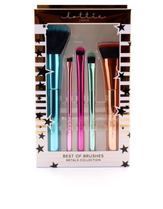 Lottie Limited Edition Metallic Brushes [Set of 5]