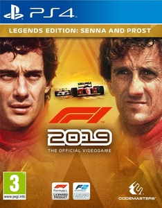 F1 2019 Legends Edition: Senna and Prost PS4 [Pre-Order]