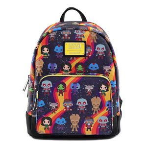 Loungefly Marvel Guardians Of the Galaxy Chibi Aop Mini Backpack