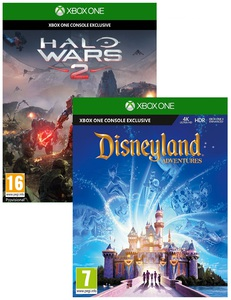 Disneyland Adventures + Halo Wars 2
