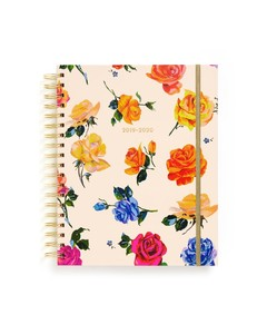 ban.do 17-Month Large Planner Coming Up Roses