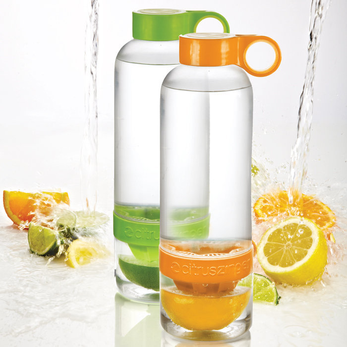 Zing Anything Citrus Zinger Green 28Oz Water Infuser