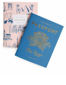 Rifle Paper Co Passport Pocket Notebooks [Set of 2]