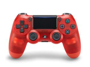Sony Dualshock 4 Red Translucent Controller