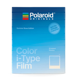 Polaroid Color I-Type Film Summer Blues Edition