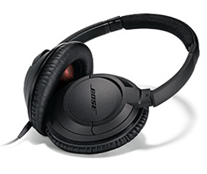 Bose Soundtrue Black Around Headphones