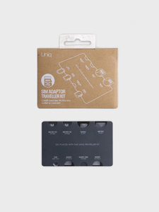 Uniq 7-In-1 Sim Adaptor Traveller Kit