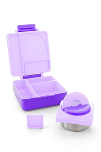 Omiebox Kids Lunchbox Purple Plum