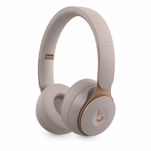 Beats Solo Pro Grey Wireless Noise-Cancelling On-Ear Headphones