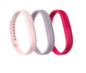 Fitbit Flex 2 Band Pink Small 3 Pack