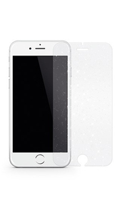 Hama White Diamonds Sparkling 9H Glass Screen Protector Silver iPhone 7 Plus