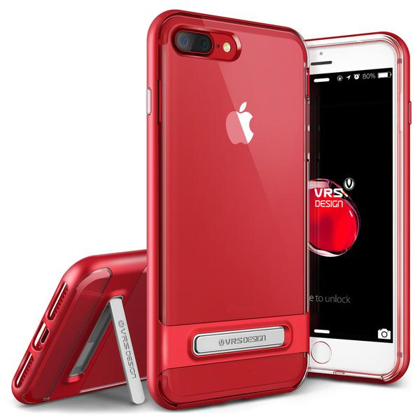 VRS Design Crystal Bumper Red For IPhone 8 7 Plus