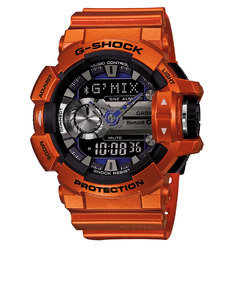 Casio G-Shock GBA-400-4B Strap Watch Red
