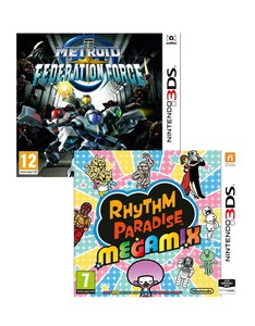 Metroid Prime Federation Force + Rhythm Paradise [Bundle]