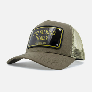 John Hatter & Co You Talking To Me Unisex Cap Green