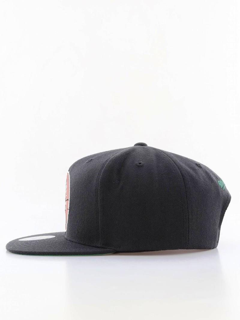 3ce3900f8 Mitchell & Ness Boston Celtics Wool Solid Snapback Men's Cap Black
