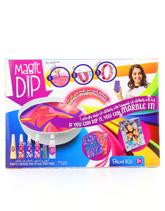 Magic Dip Paint Kit With 4 Paints And Accessories