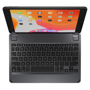 Brydge Aluminium Bluetooth Keyboard Space Grey for iPad 10.2-Inch 7th Gen [Arabic/English]